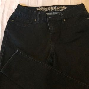 Dark Navy Express Denim Stretch Jeans Size 10